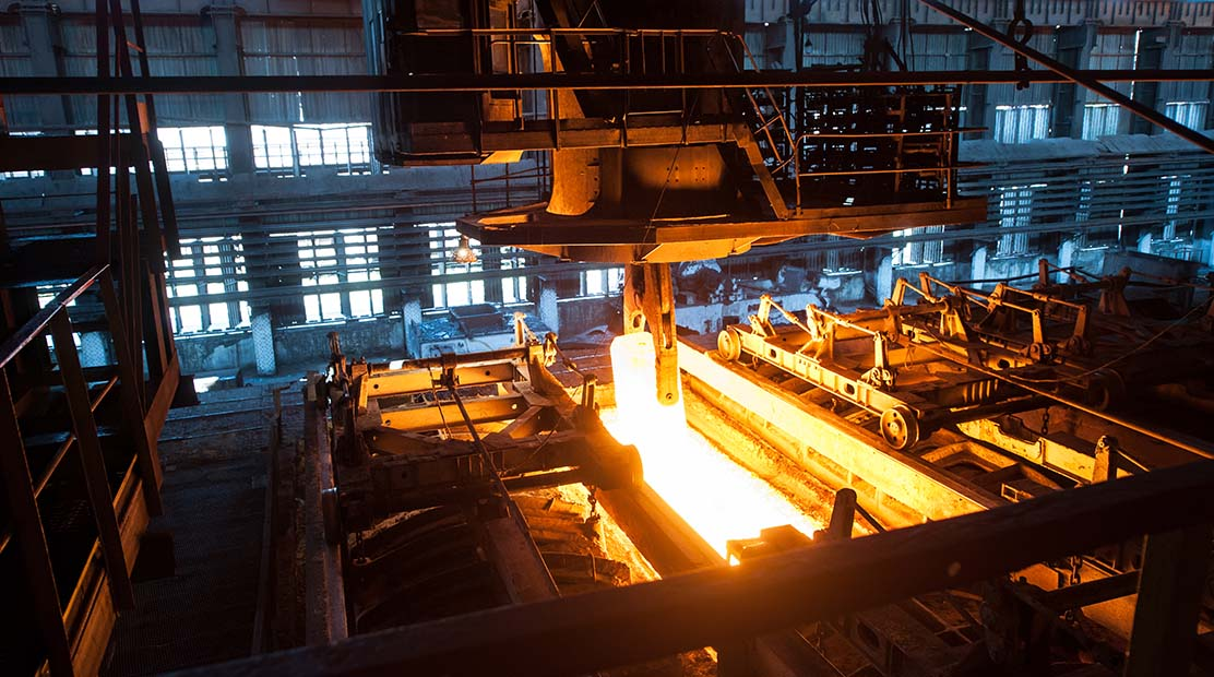 Fast delivery of worldwide best practices stopped metallurgical company to burn through money